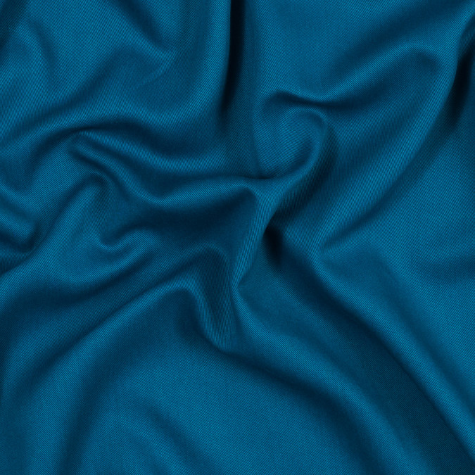 teal blue rayon twill 317509 11
