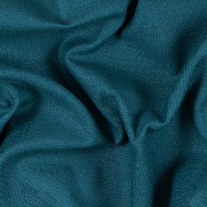 teal green cotton dobby 312143 11
