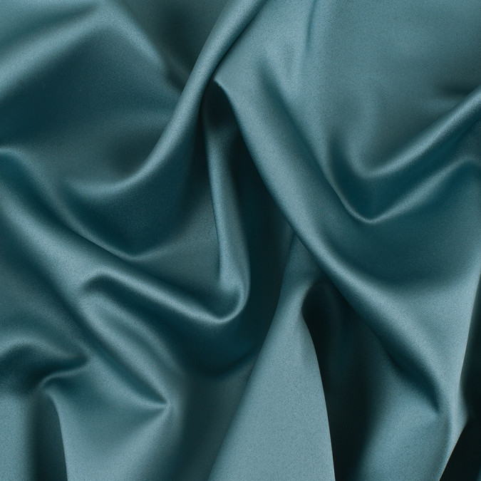 teal solid polyester satin ms teal 11