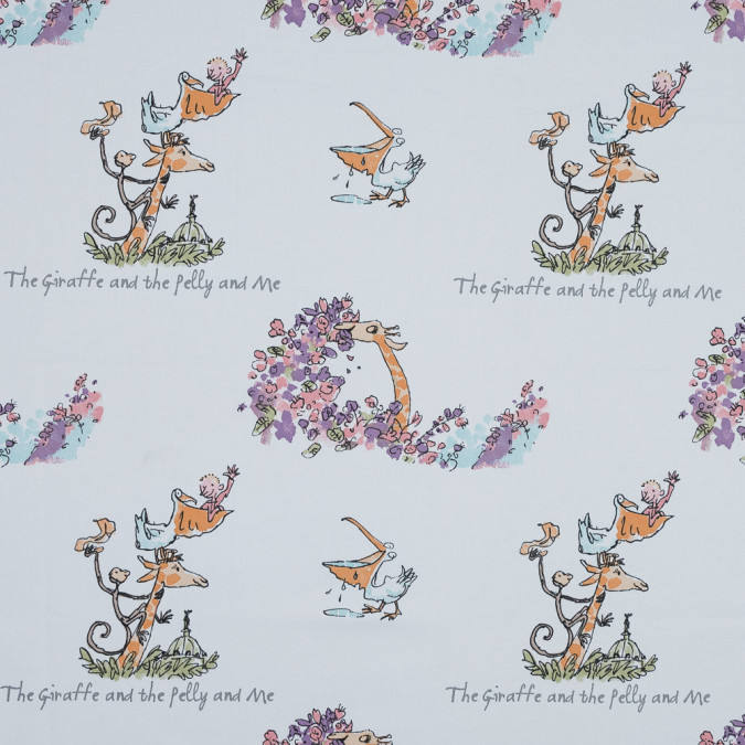 the giraffe and the pelly and me printed cotton canvas awg1000 11