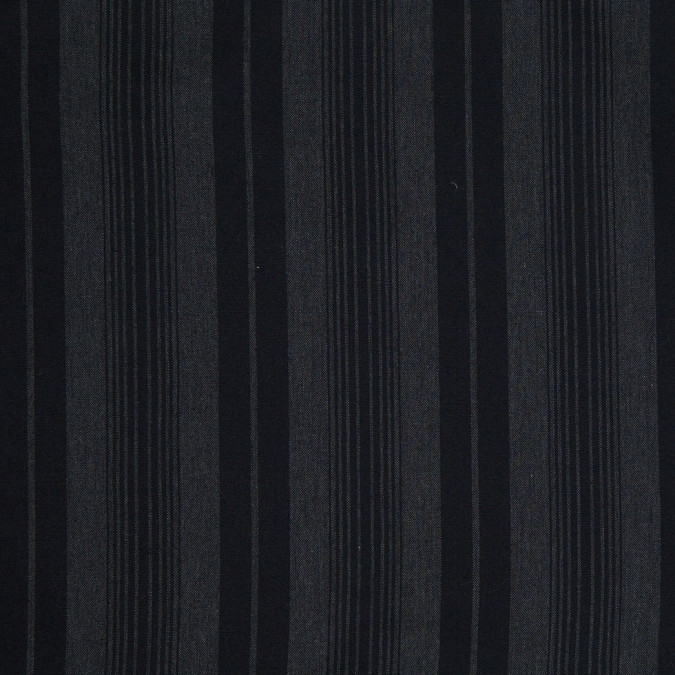 theory black striped cotton woven 303997 11