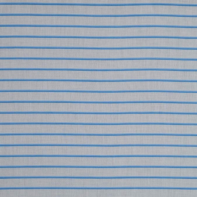 theory blue and natural striped cotton lawn 317761 11