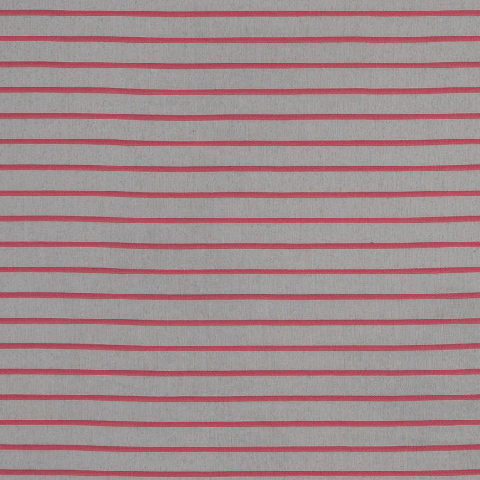 theory candy pink and natural pencil striped cotton voile 318760 11