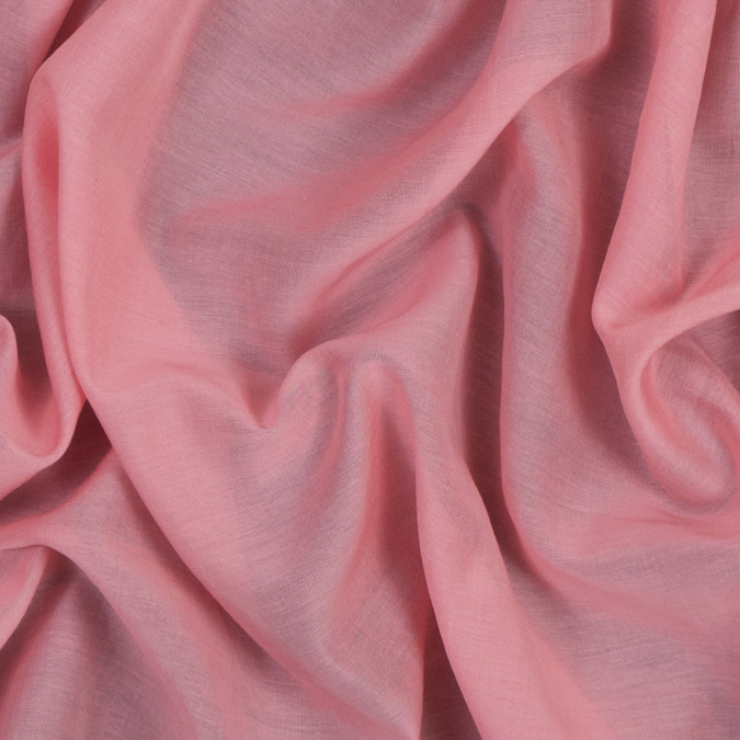 theory candy pink silk and cotton voile 317900 11