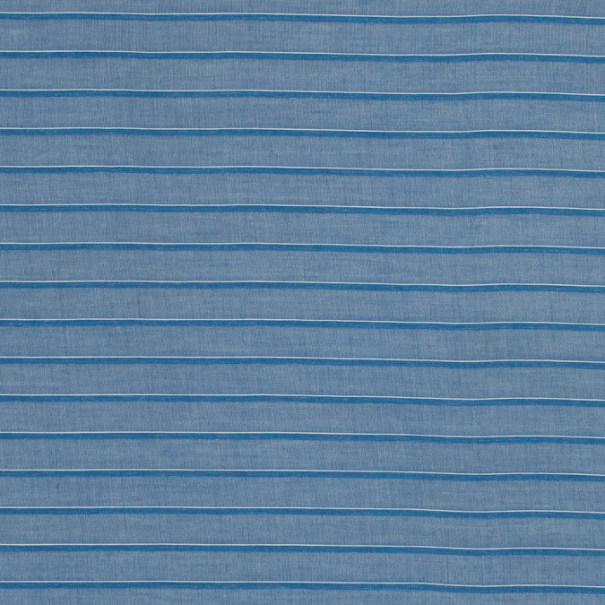theory country blue and white shadow striped cotton lawn 318658 11