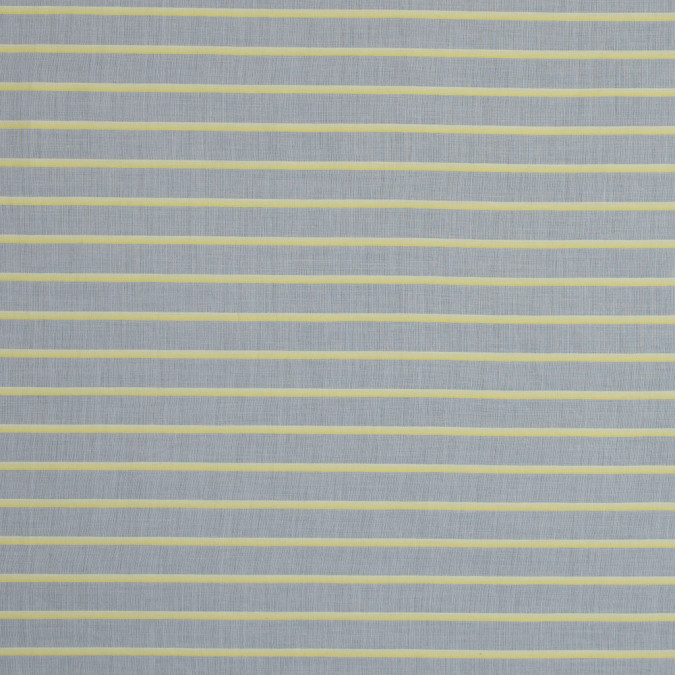 theory daisy yellow and natural pencil striped cotton voile 317904 11