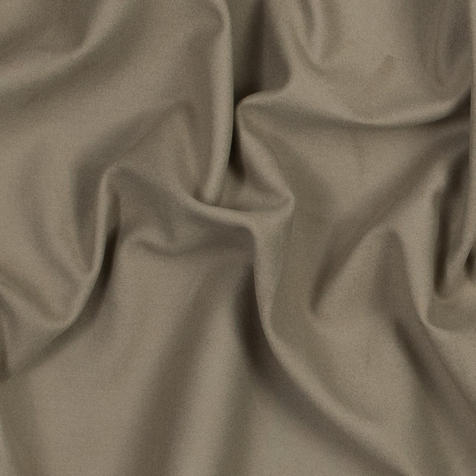 theory dark beige brushed cotton bonded to a heather gray jersey 317928 11