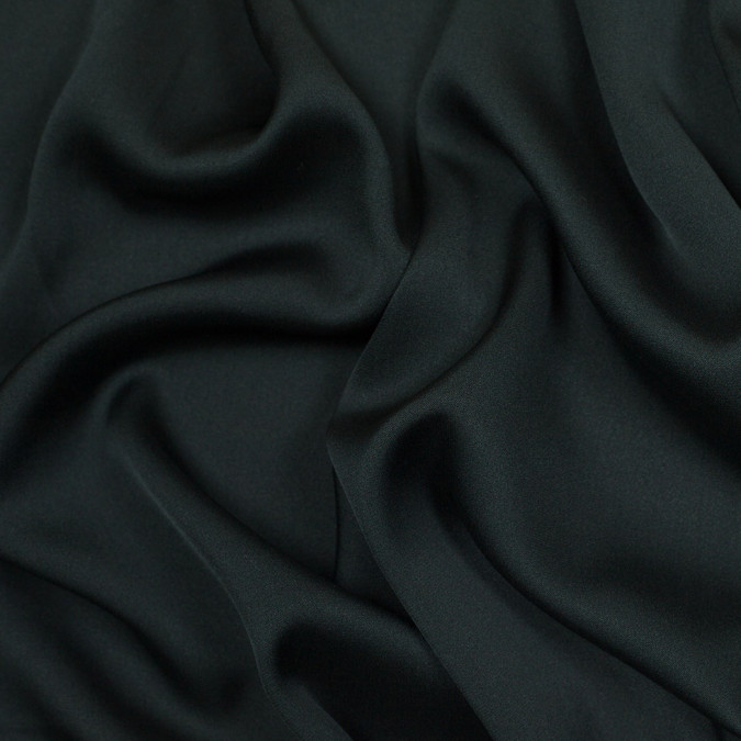 theory dark green stretch silk georgette 304887 11