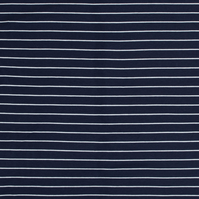 theory light navy and white pencil striped rayon double knit 318660 11