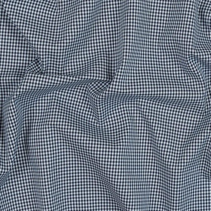 theory navy and white shepherd s check cotton twill 318218 11