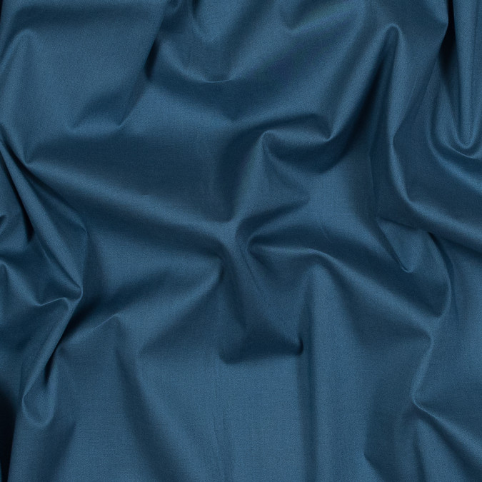 theory ocean blue stretch fine cotton shirting 318067 11