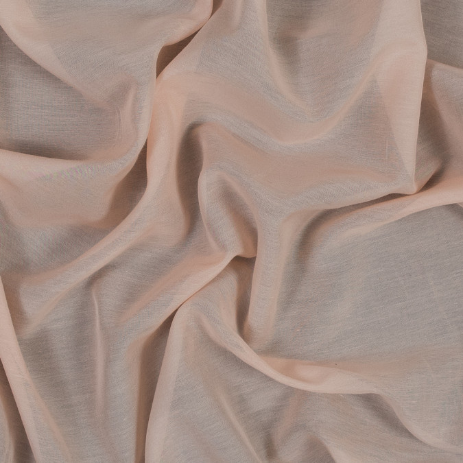 theory pink peach silk and cotton voile 317749 11
