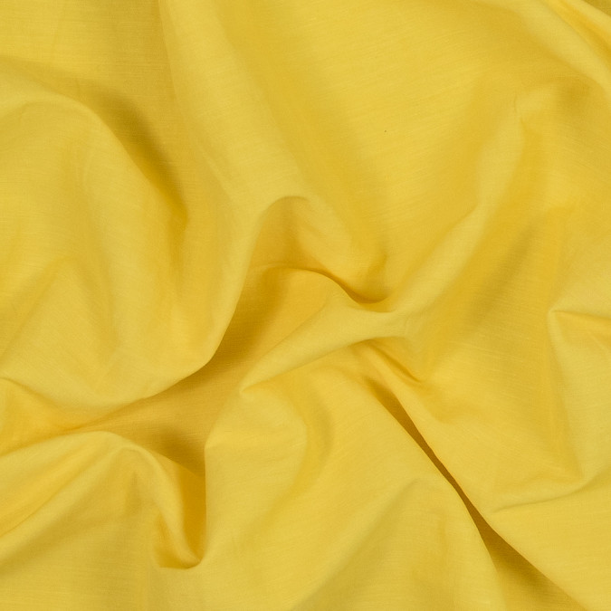 theory pop yellow stretch linen and viscose woven 318681 11