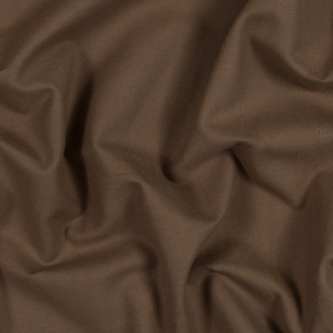 toasted coconut brown brushed cotton twill 318964 11