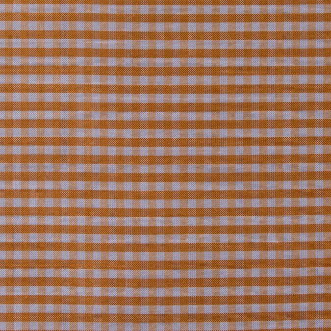 tocca apricot and white gingham silk taffeta 311877 11