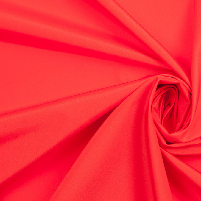tomato red polyester lining 305999 11