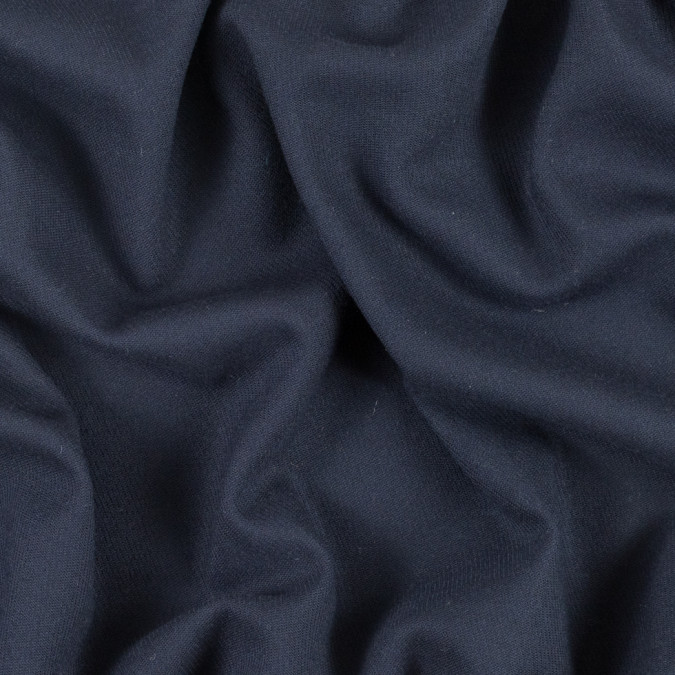 true navy stretch virgin wool twill 311437 11