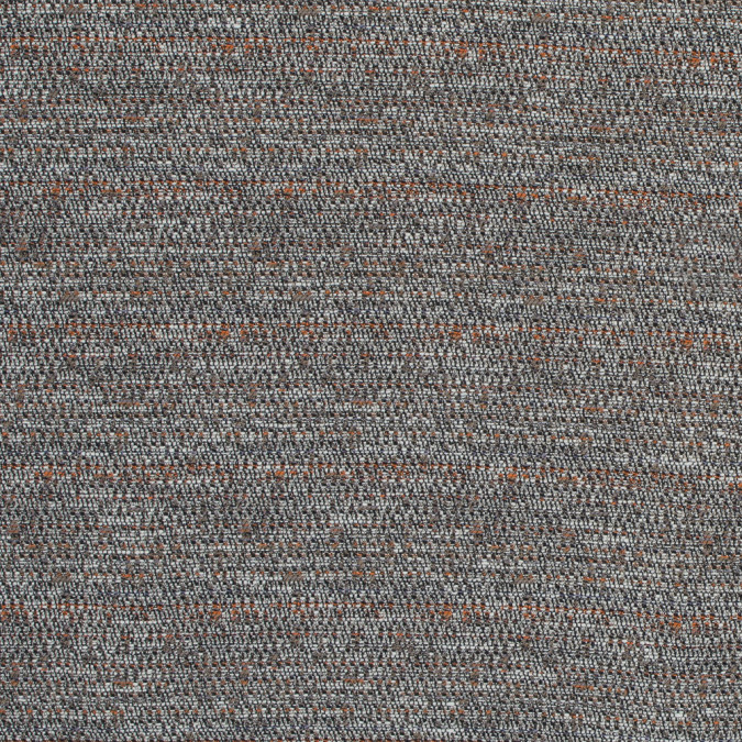truffle orange and white cotton tweed 317652 11