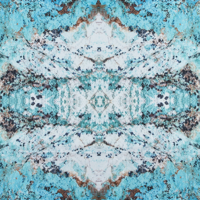 turquoise mineral printed cotton sateen 314315 11