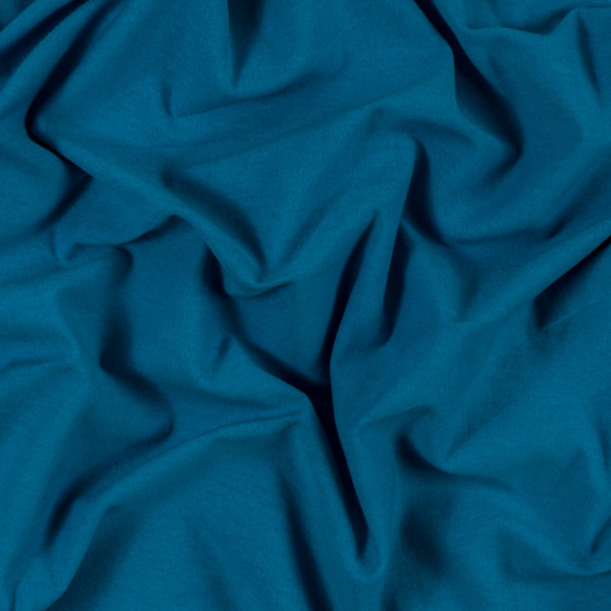 turquoise solid cotton jersey 313354 11
