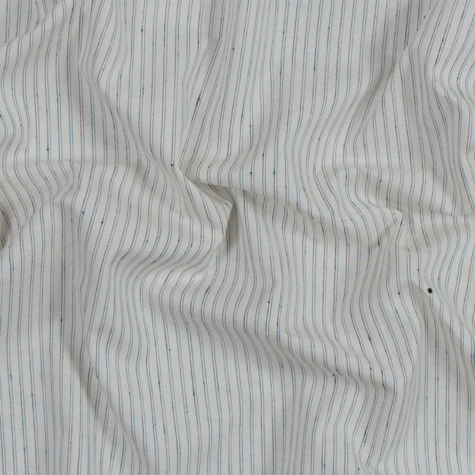turtledove cotton shirting with blue and black double pinstripes 318840 11