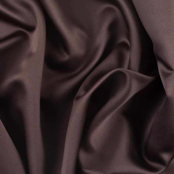 ultra brown solid polyester satin ms brown 11