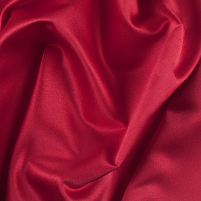 valentine red solid polyester satin ms red 11