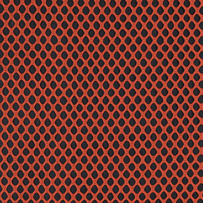 vermillion orange fishnet crochet 315329 11