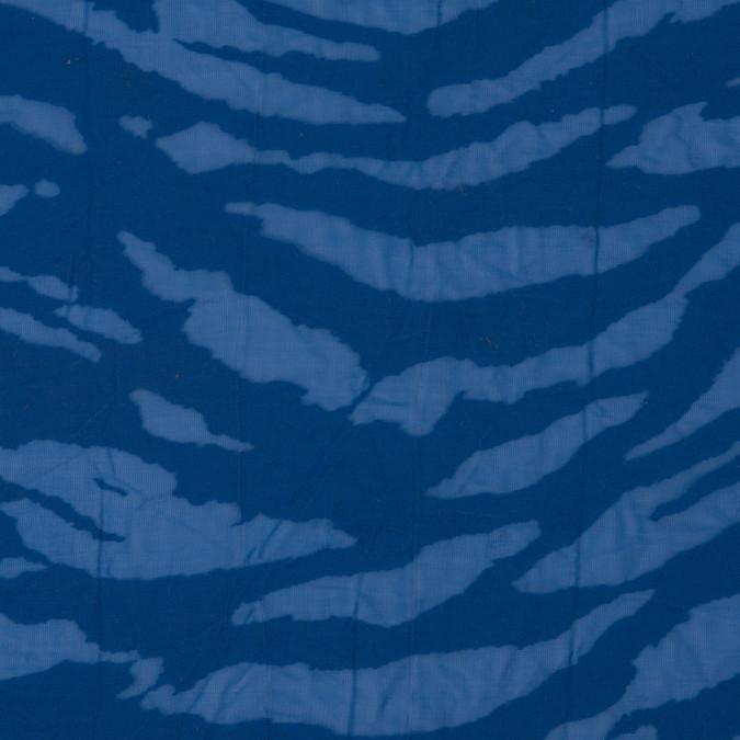 victoria blue polyester zebra burnout 309661 11