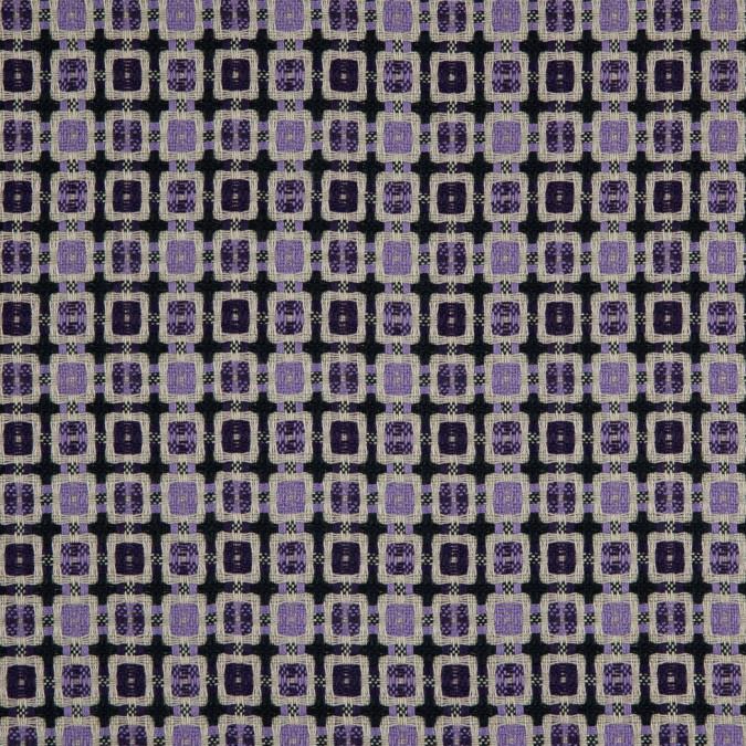 violet amaranth purple geometric blended woven 310905 11