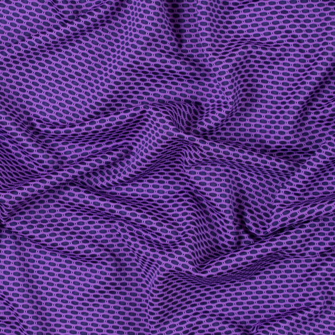 violet and black knit mesh 312469 11