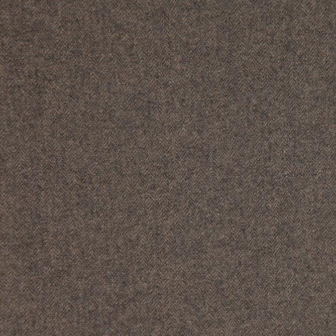 warm gray herringbone calvin klein cashmere coating fw23987 11