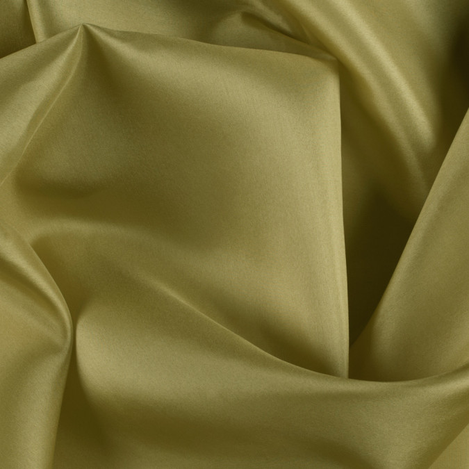 warm olive china silk habotai pv2000 134 11