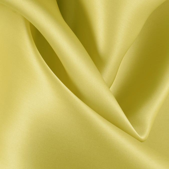 warm olive silk satin face organza pv4000 134 11