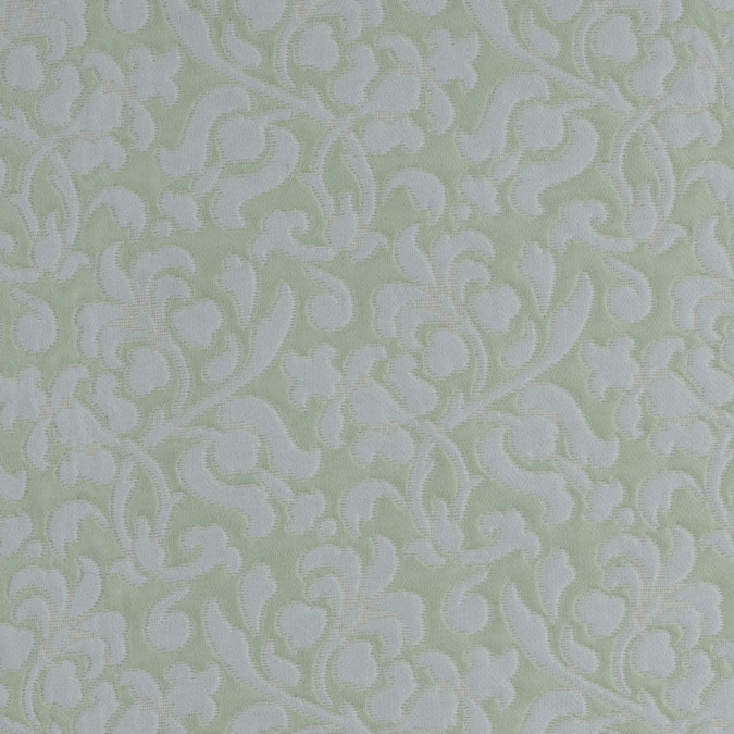water lily seamfoam green floral brocade 310853 11