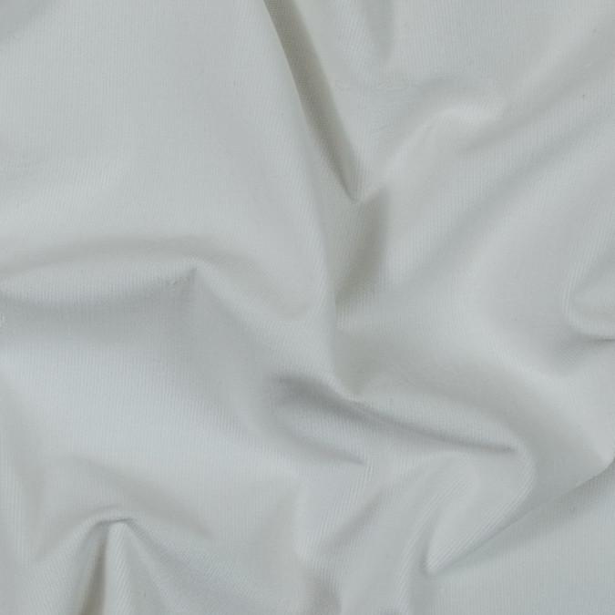 whisper white short piled stretch cotton corduroy 317575 11