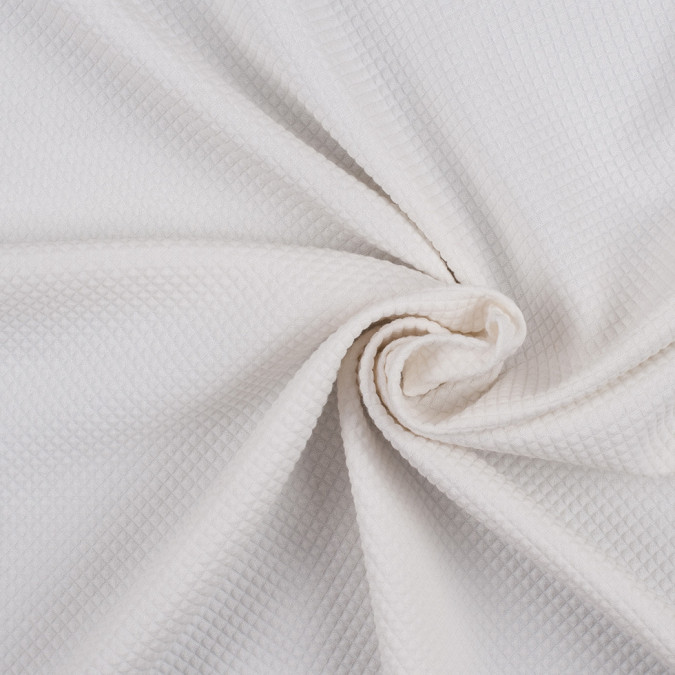 whisper white stretch cotton polyester quilted woven 308872 11