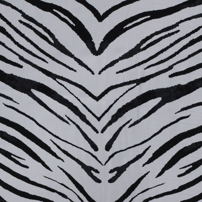 white and black zebra printed silk georgette 315562 11