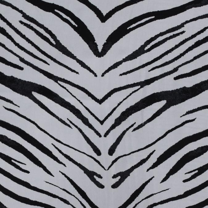 white and black zebra printed silk georgette 315562 11