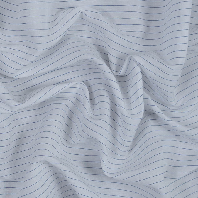 white and blue pinstriped linen woven 318791 11
