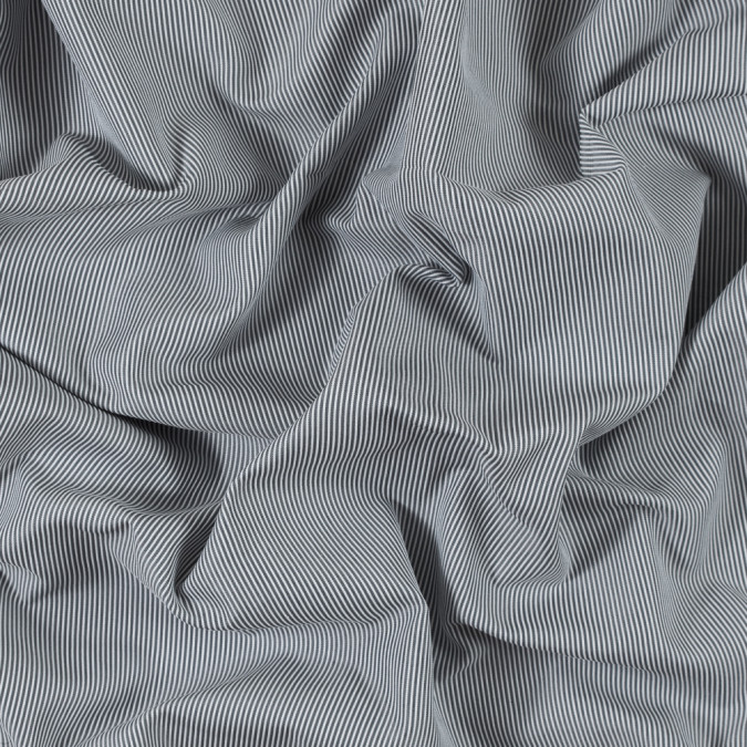 white and cool gray striped polyester woven 315815 11