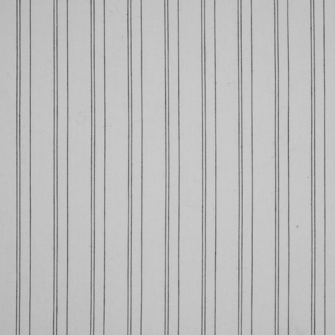 white black pencil striped stretch shirting 310886 11