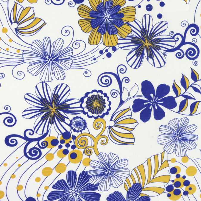 white cobalt mustard floral cotton jersey print fc19808 11