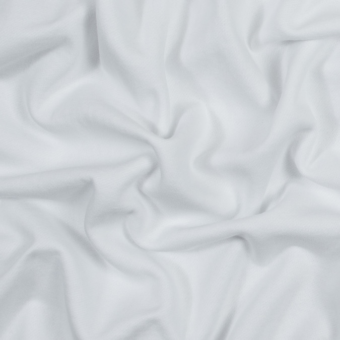 white cotton and polyester brushed fleece 316150 11
