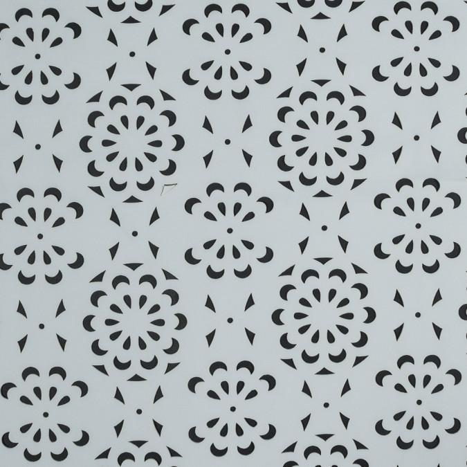 white floral laser cut scuba knit neoprene 318257 11