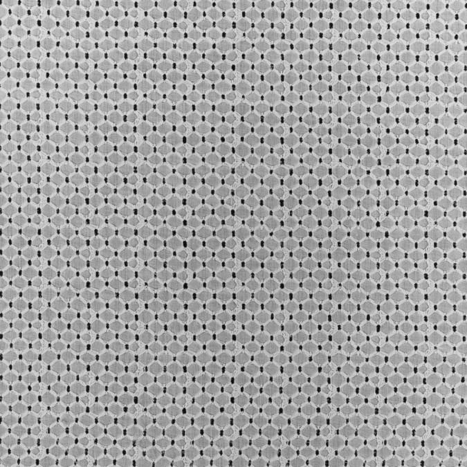 white geometric embroidered cotton eyelet 311909 11