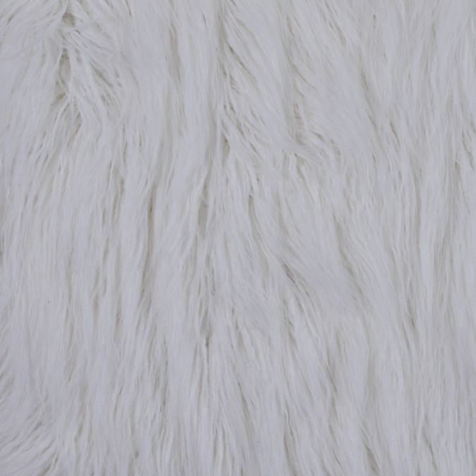 white long haired faux shag fur 116558 11