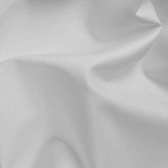 white mercerized twill cotton shirting 309809 11