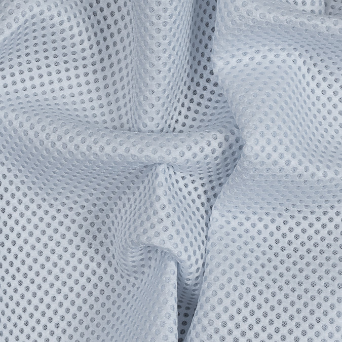 white novelty circular spacer mesh 318102 11