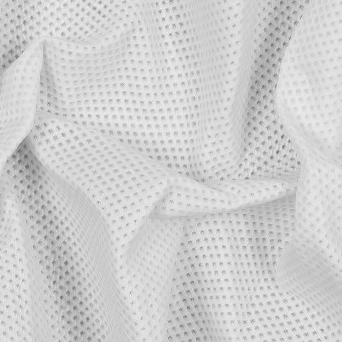 white novelty diamond patterned spacer mesh 318093 10